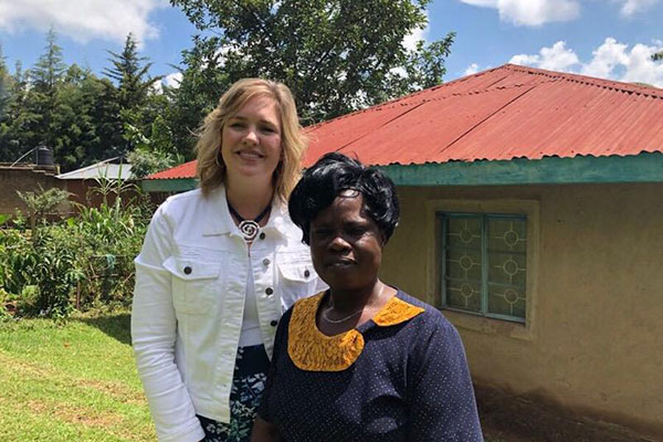 Jennifer Jackson in Africa